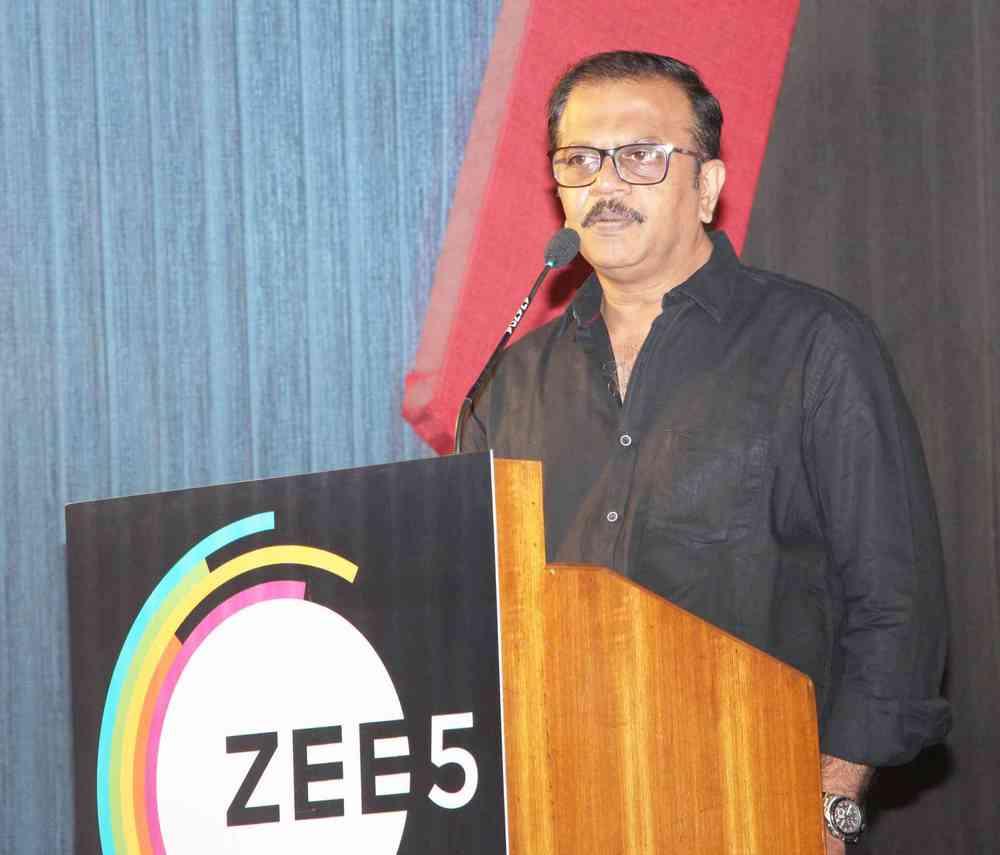 Zee 5 Premieres Original Series Karoline Kamakshi Pressmeet (10)