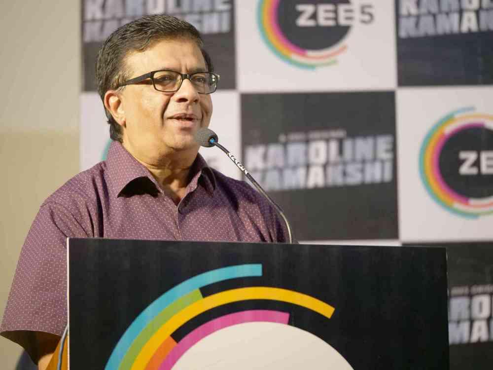 Zee 5 Premieres Original Series Karoline Kamakshi Pressmeet (13)