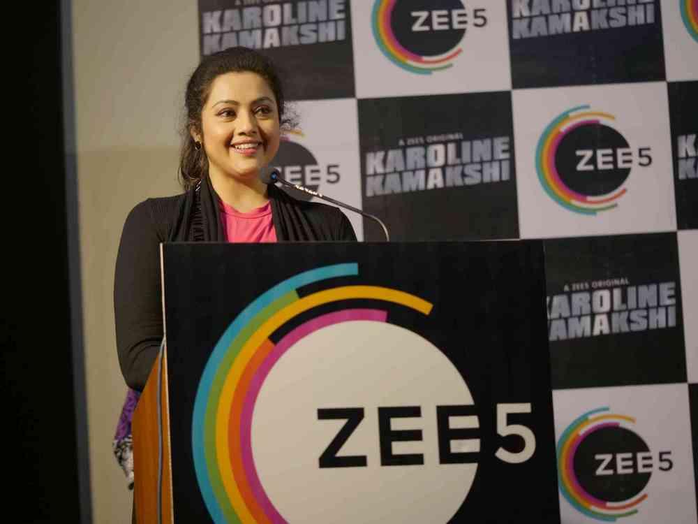 Zee 5 Premieres Original Series Karoline Kamakshi Pressmeet (16)