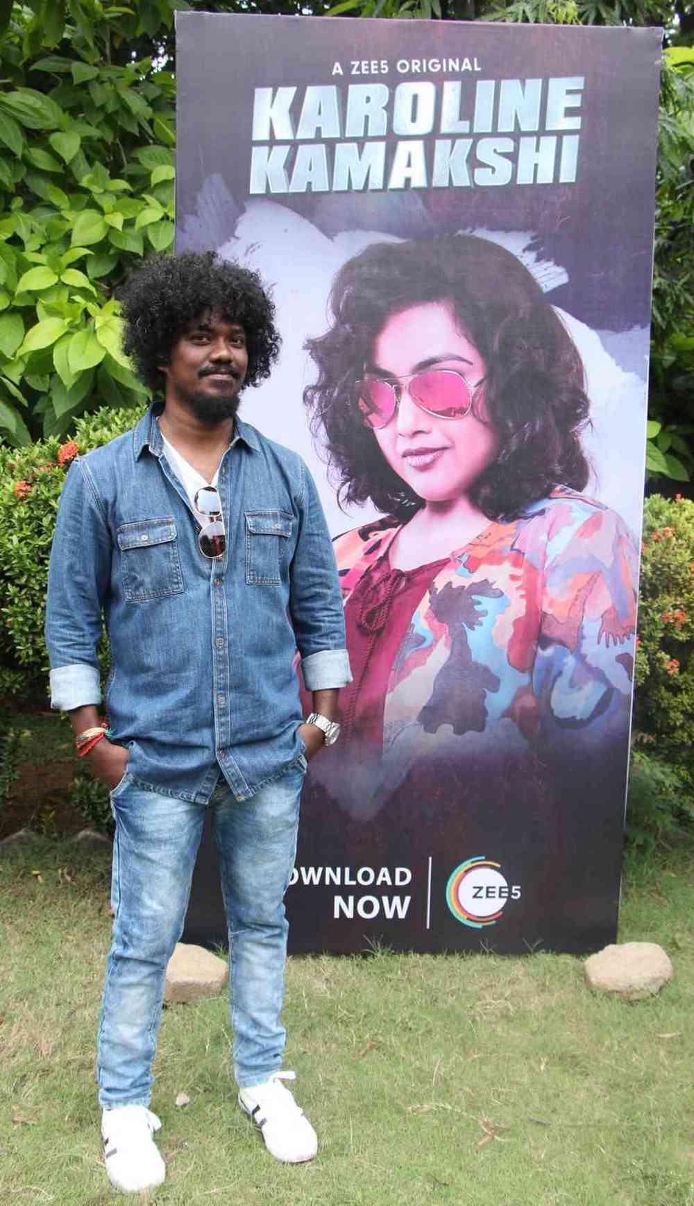 Zee 5 Premieres Original Series Karoline Kamakshi Pressmeet (5)