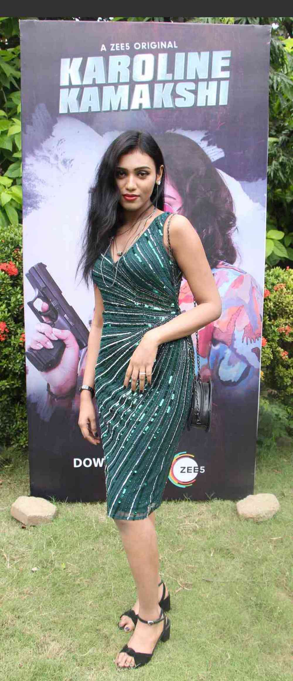 Zee 5 Premieres Original Series Karoline Kamakshi Pressmeet (7)
