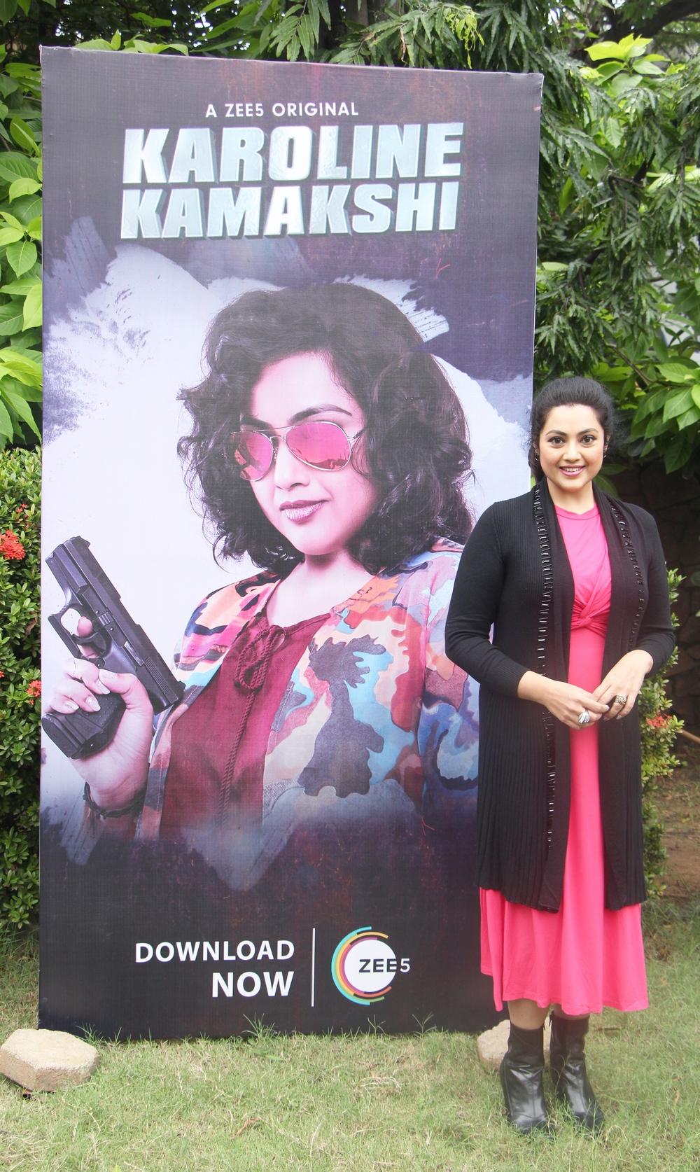 Zee 5 Premieres Original Series Karoline Kamakshi Pressmeet (8)