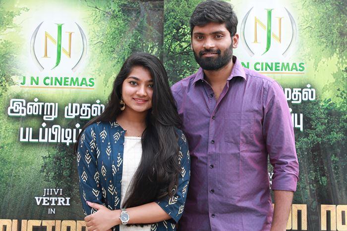 Actor Vetri New Movie Launch