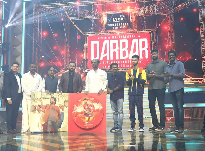 Darbar Audio Launch Stills