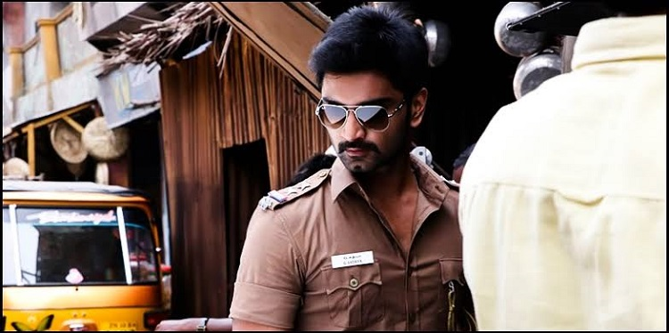 atharvaa in cop