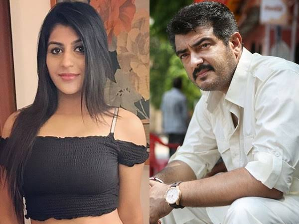 yashika anand and ajith