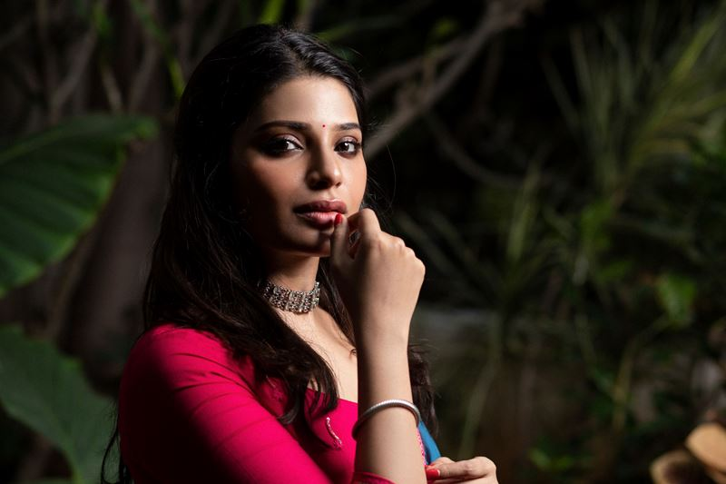 Actress Aathmika Stills