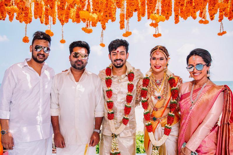 Actor Mahat Raghavendra and Prachi Mishra Wedding Stills