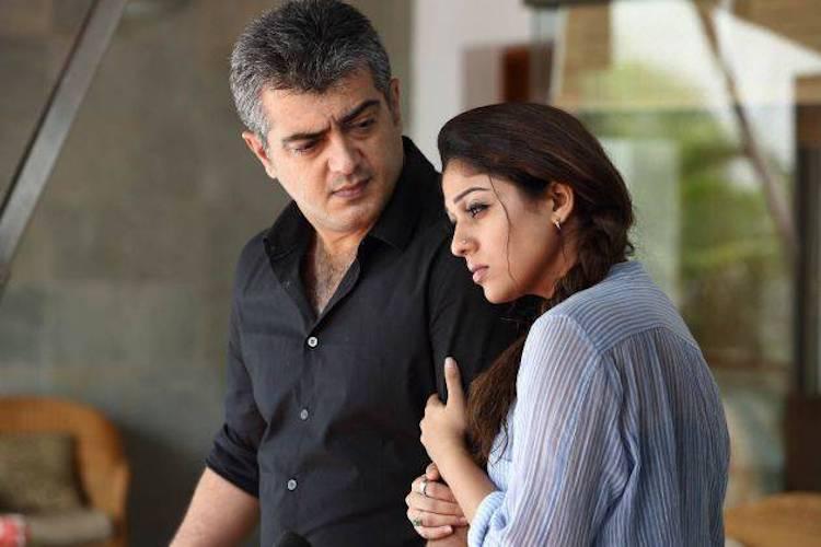 ajith and nayanthara