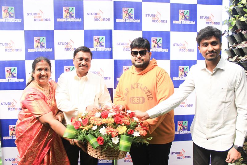 Launch of Studio UNO Records By Music dir S Thaman and Singer Mahathi as Guest of Honour