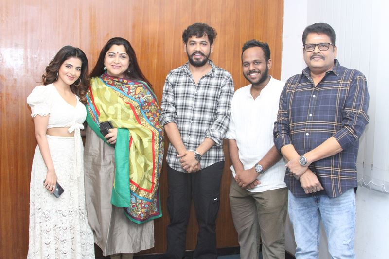 Naan Sirithal Movie Success Meet Stills