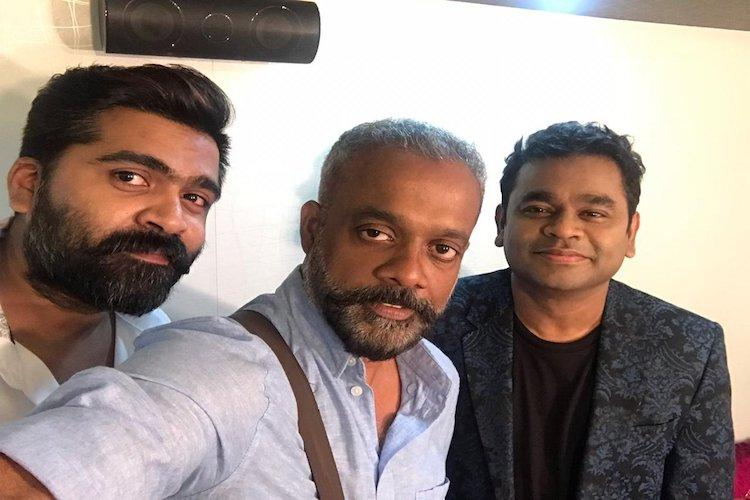 simbu and gautham menon