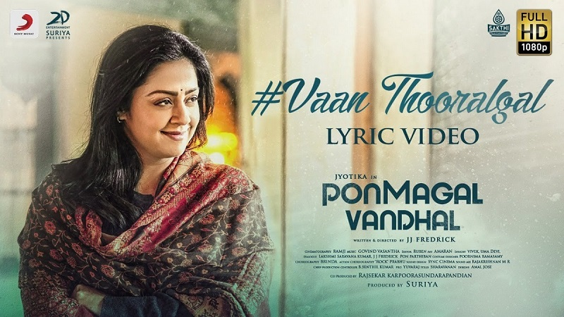 Vaan Thooralgal Lyric Video