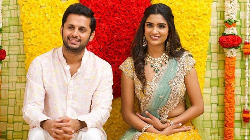 actor nithin and Shalini Reddy