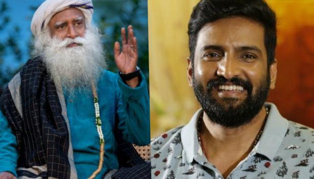Santhanam and Sadhguru