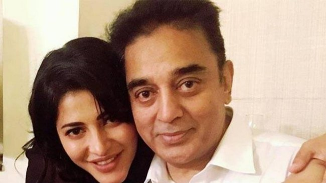 kamal haasan and shruti hassan