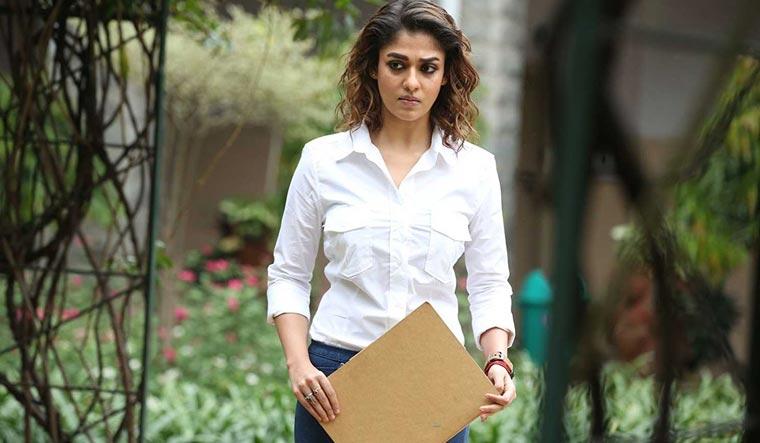 Lady superstar Nayanthara