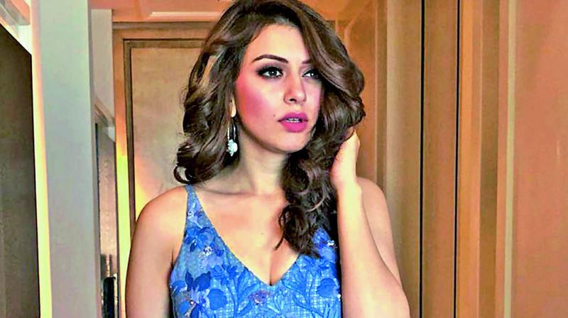 Hansika started a new business