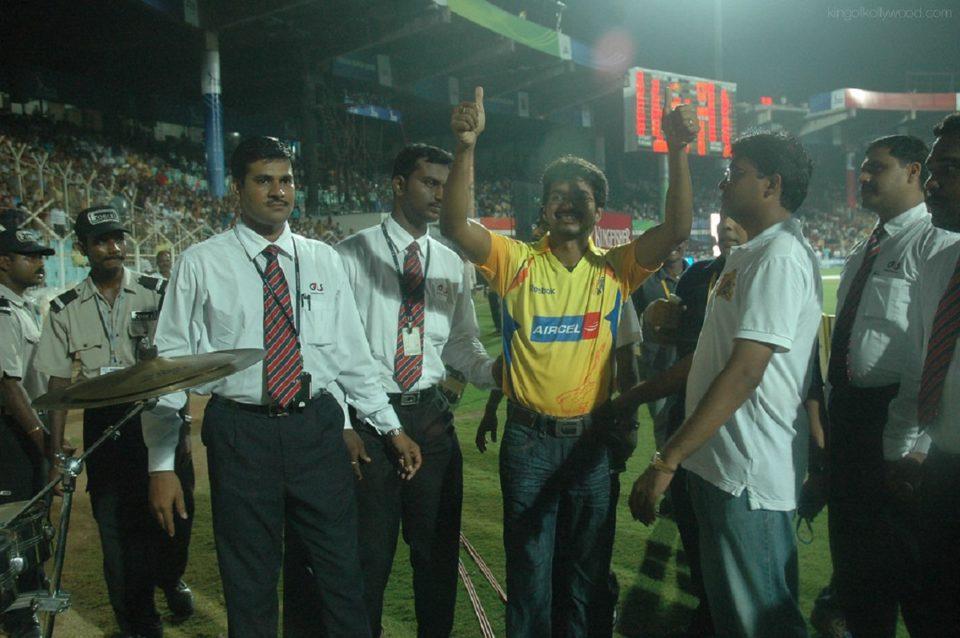 Vijay Celebration for CSK Victory :