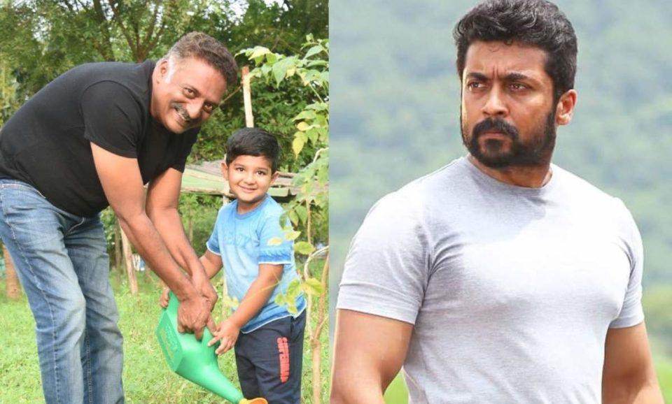 Actor Prakash Raj Challenge to Suriya
