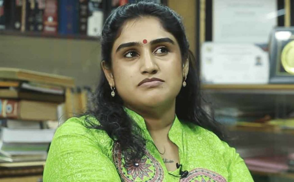 vanitha vijaykumar join bjp