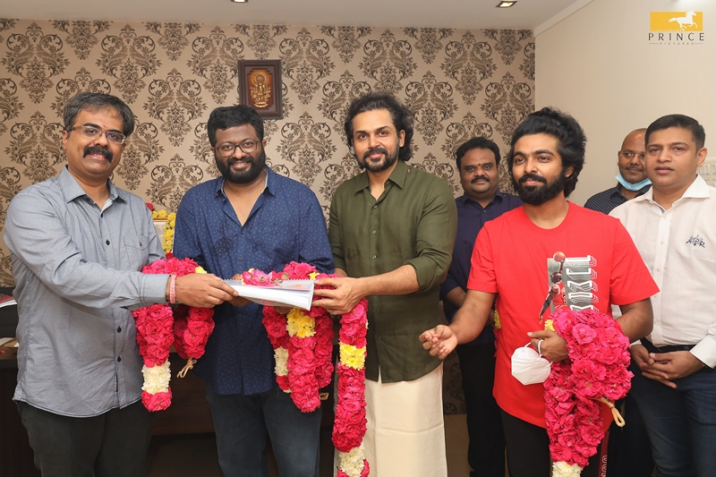 Karthi - PS Mithran New Movie Launch