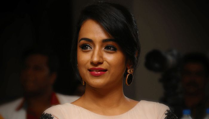 Most favorite actor for actress Trisha