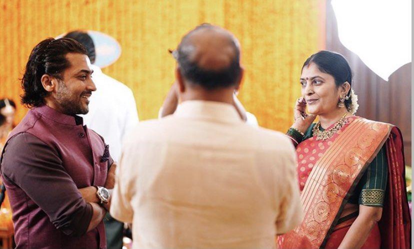 Sudha Kongara 's Daughter's engagement