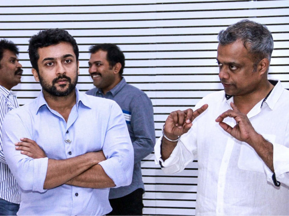 Surya finished acting in Gautham Menon in one week