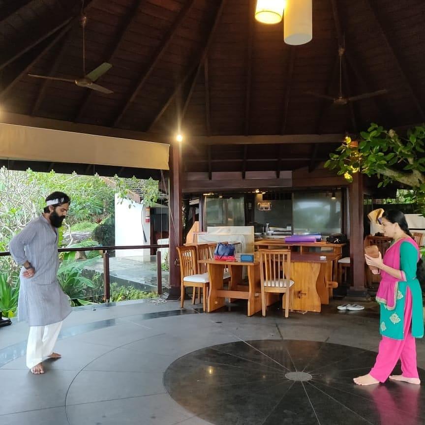 simbu learning baradham