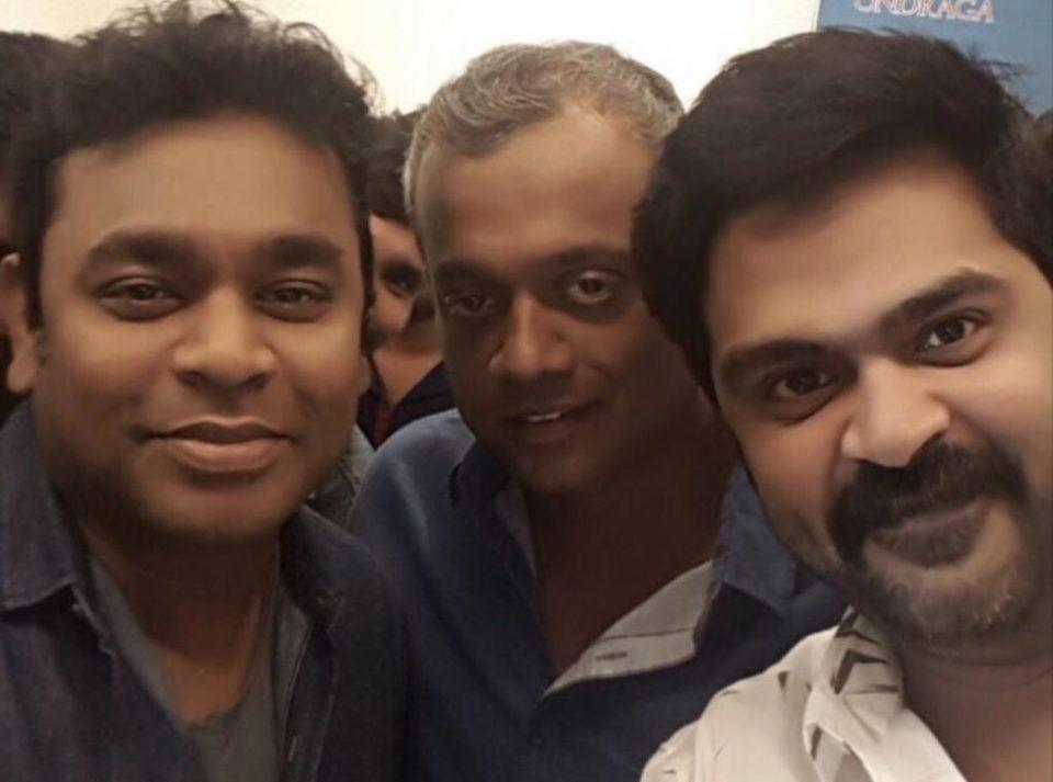 AR Rahman composes the music for Simbu