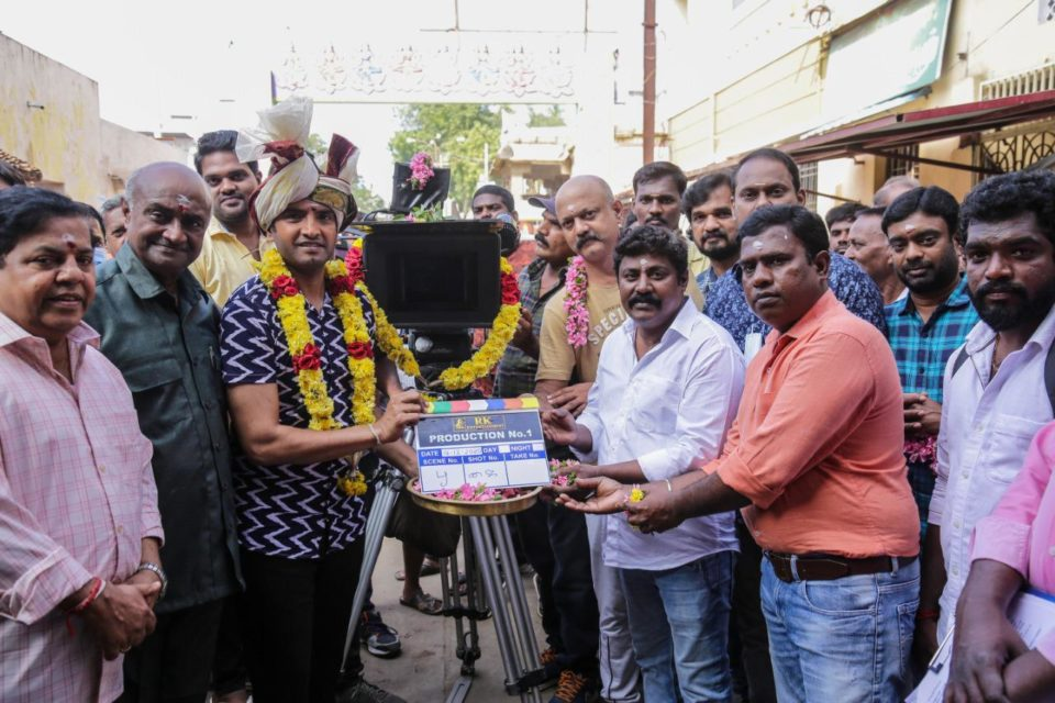 Actor Santhanam Next Movie Pooja Stills