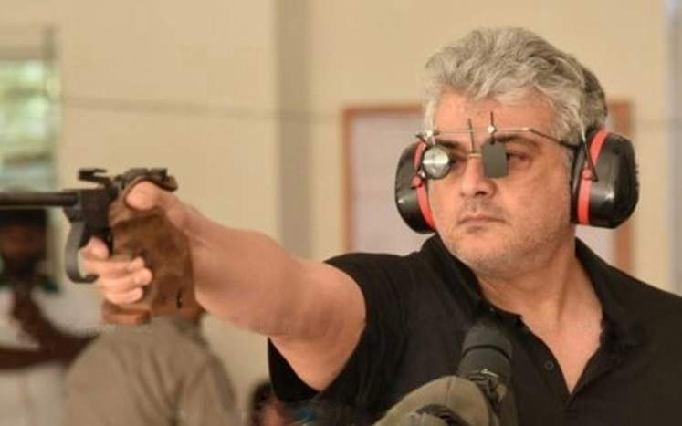 Ajith is a sniper