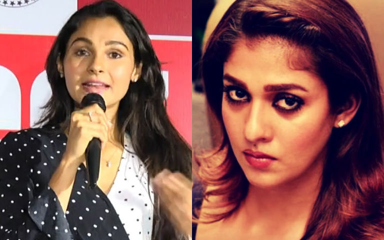 Andrea comments controversial about Nayantara