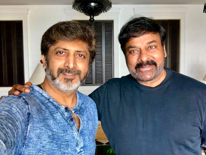Mohan Raja will remake the hit film with Chiranjeevi