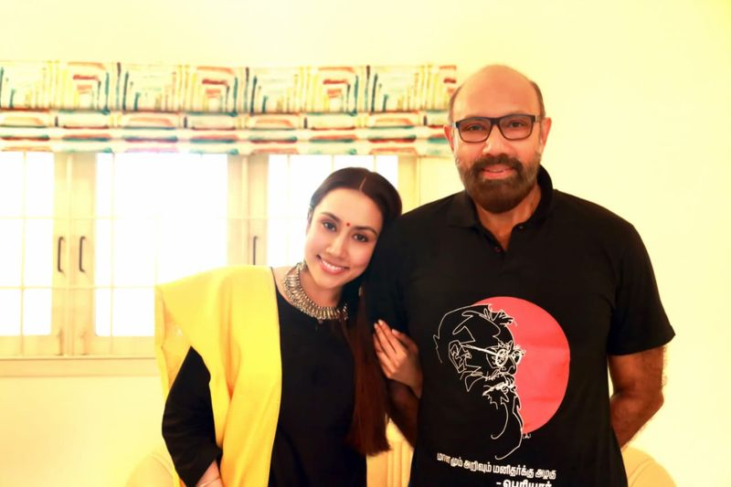 Sathyaraj to support his daughter in the election