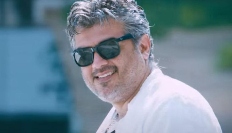 Ajith is a iconic celebrity in the film