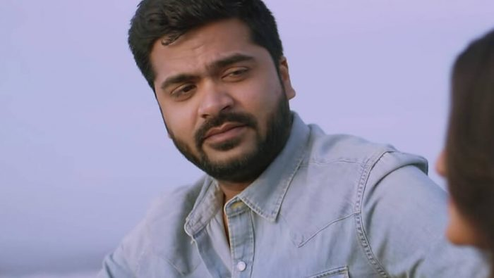 Fans protest in front of Silambarasan house