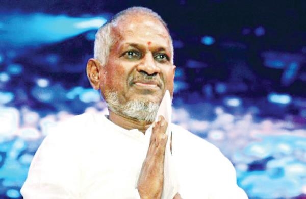 Fans who caused a stir by sticking posters in support of Ilayaraja