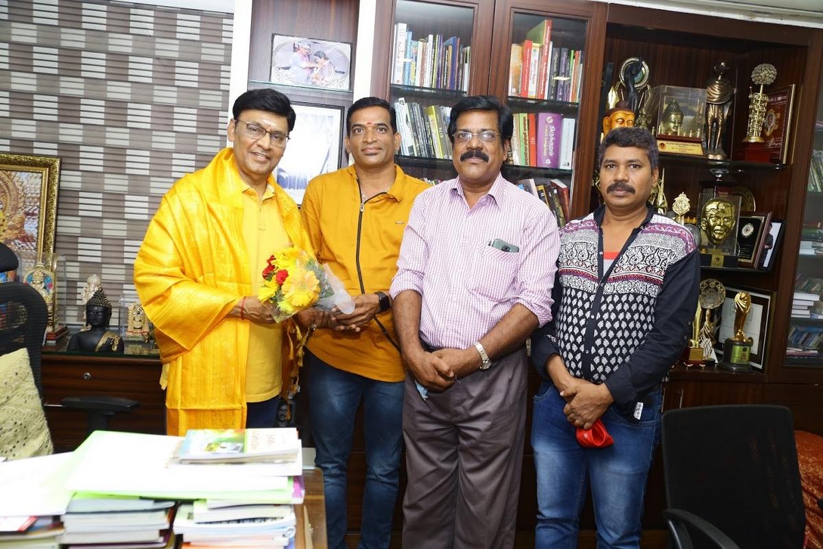 Maarutham Trailer released by Director K Bhagyaraj