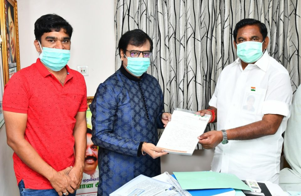 Why did you meet the Chief Minister of Tamil Nadu - Actor Vivek Description
