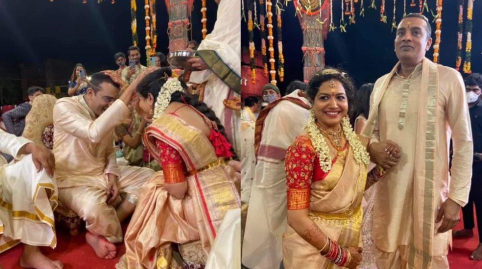 singer sunitha 2nd marriage