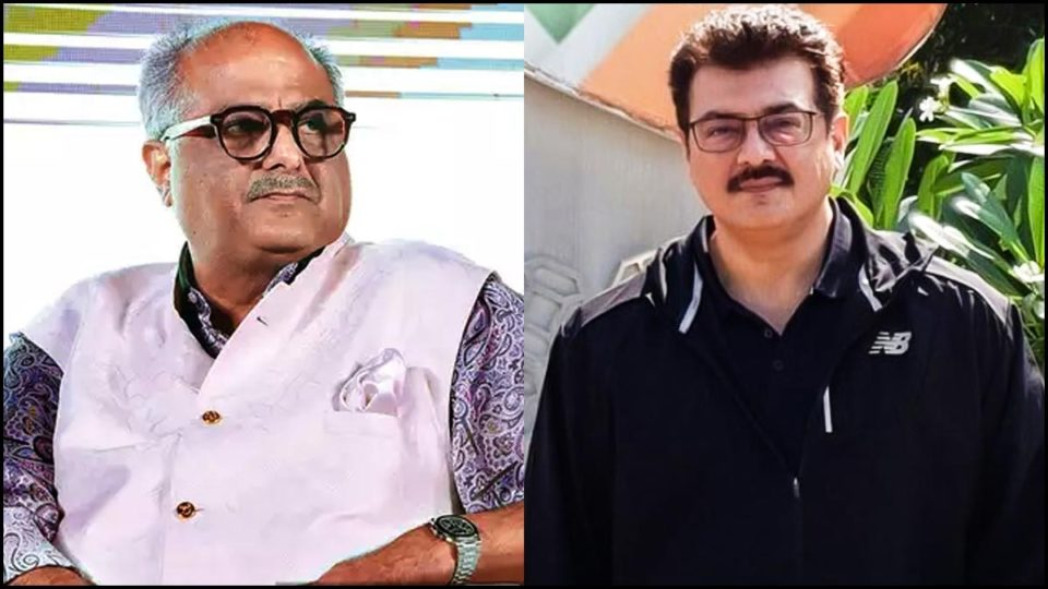 Boney Kapoor gives an important update on Thala Ajith's Valimai