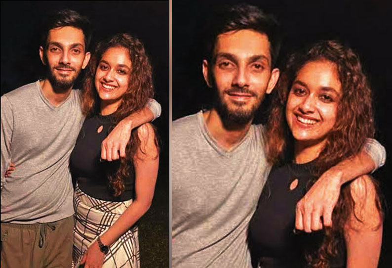 Is Anirudh in love with actress Keerthi Suresh