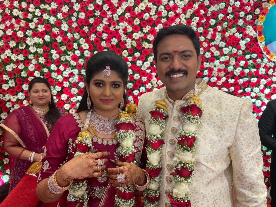 Producer M S Kathiravan Wedding Photos