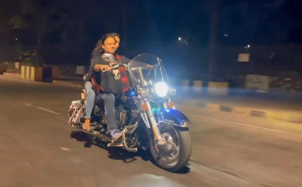 Vivek Oberoi for not wearing helmet & mask and violating COVID-19 rules