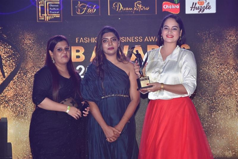 Actress Ineya, Sakshi Agarwal, Aishwarya Dutta felicitated at FB Awards 2020-21