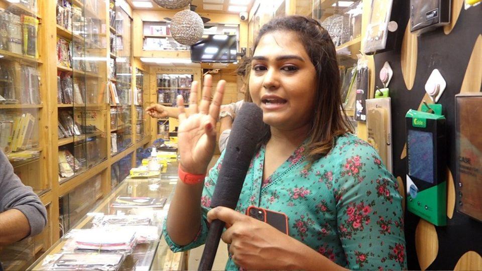 Adithya TV VJ Akalya Shopping AK 47 Show Room