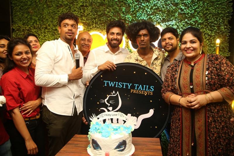 Cook with Comali Fame Ashwin and KPY Bala at Twisty Tails Inauguration