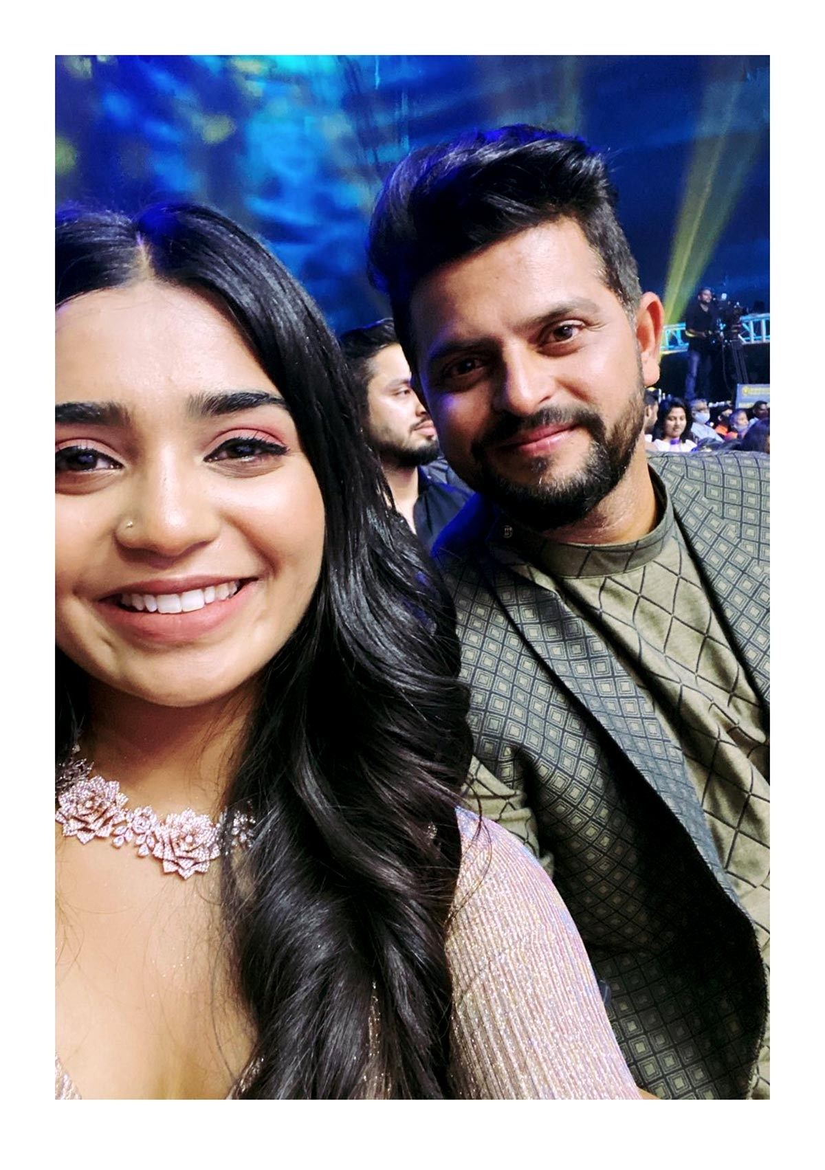 Gouri Kishan with Chinna Thala